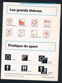 1976 Cassius Clay Muhammad Ali - the booklet to the Sportscaster cards, French, Beckenbauer etc